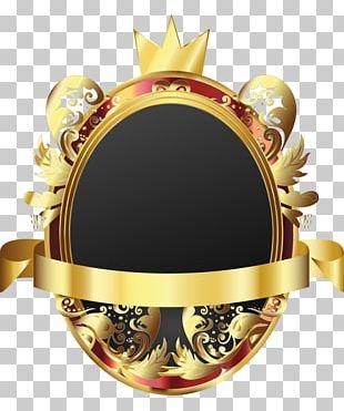 Royal Golden Crown PNG