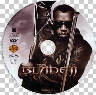 Blade II Wesley Snipes Blu-ray Disc DVD PNG