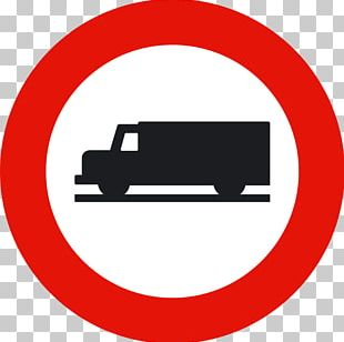 Van Senyal Traffic Sign Truck Vehicle PNG