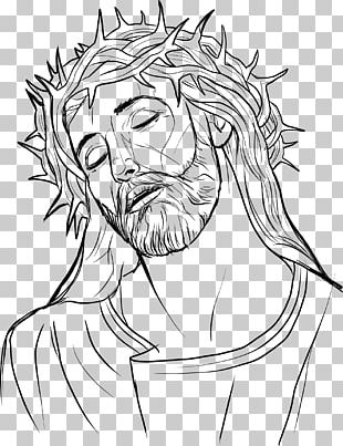 Drawing Crown Of Thorns Line Art Religion PNG