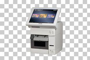 Paper Label Printer Epson TM C3400 PNG