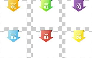 Infographic Arrow Template Icon PNG