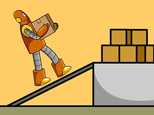 Inclined Plane Simple Machine BrainPop Work PNG