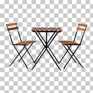 Table Bistro IKEA Chair Garden Furniture PNG
