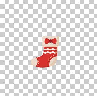 Sock Christmas Stocking Santa Claus Gift PNG