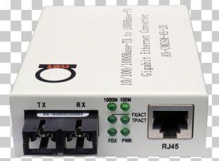 Fiber Media Converter Optical Fiber Connector Gigabit Ethernet Fast Ethernet PNG