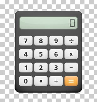 Calculator 3D Circle Android PNG