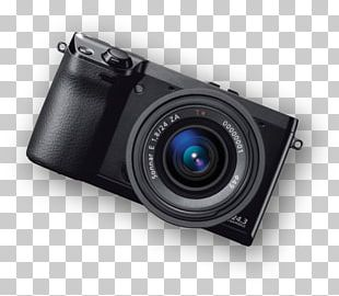 Camera Lens Mirrorless Interchangeable-lens Camera Single-lens Reflex Camera 24.3 Mp PNG