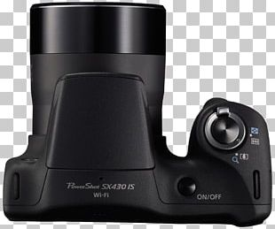 Point-and-shoot Camera Canon PowerShot SX430 IS Zoom Lens PNG