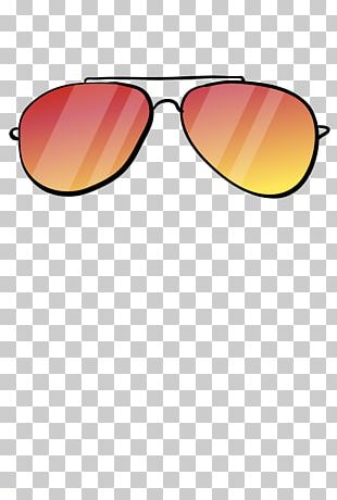 Sunglasses Goggles Yellow PNG