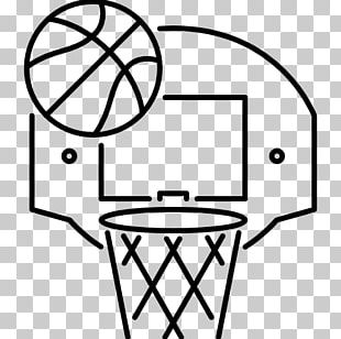Outline Of Basketball Free Throw Sport PNG