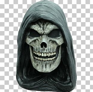 Death Latex Mask Halloween Costume Clothing PNG