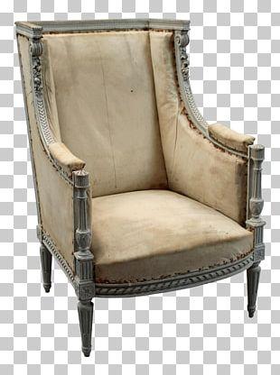 Club Chair Antique PNG