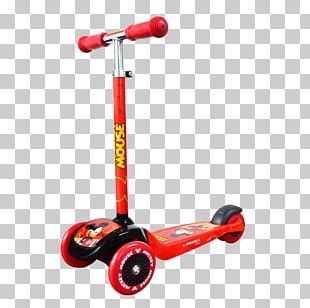 Mickey Mouse Kick Scooter PNG