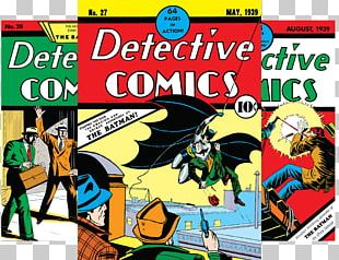 Batman Commissioner Gordon Comic Book Detective Comics 27 PNG