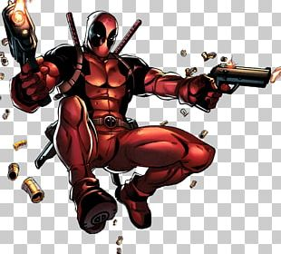 Deadpool Wolverine Comic Book Marvel Comics PNG
