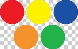 Dot & Circles Space Roos Color PNG