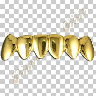 Grill Gold Teeth Diamond Jewellery PNG