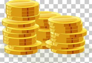 Gold Coin Euclidean PNG