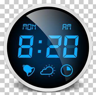Alarm Clocks Bedside Tables Digital Clock PNG
