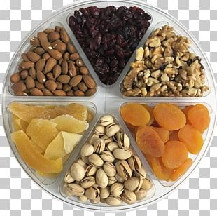 Vegetarian Cuisine Mixed Nuts Dried Fruit Food PNG