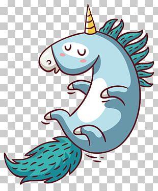 Unicorn Pegasus Letterhead Postcard Bag Tag PNG