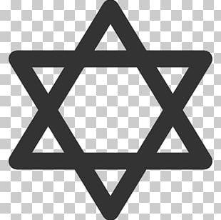 Star Of David Judaism Jewish Symbolism PNG
