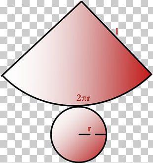 Net Cone Solid Geometry Solid Of Revolution Kegelstumpf PNG