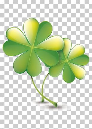 Four-leaf Clover Red Clover Icon PNG