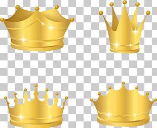 Golden Crown PNG