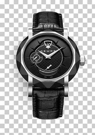 Watch Clock Graff Diamonds Gold Jewellery PNG