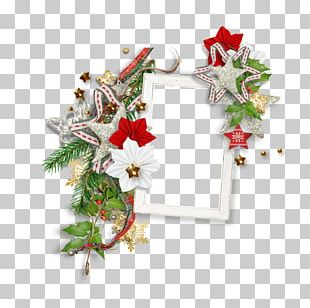 Christmas Ornament Floral Design Wreath Cut Flowers PNG