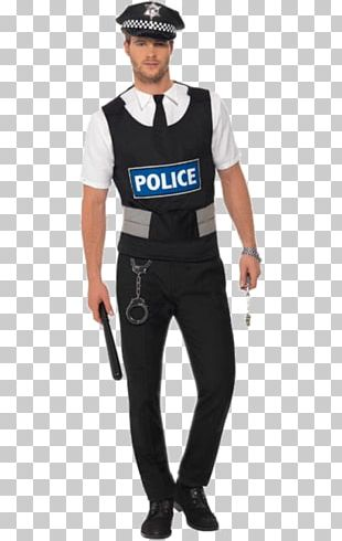 Costume Party Police Officer Halloween Costume PNG