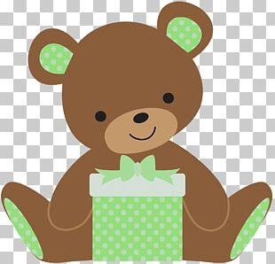 Teddy Bear Wedding Invitation Convite Baby Shower PNG