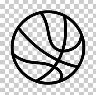 Outline Of Basketball Sport Backboard PNG