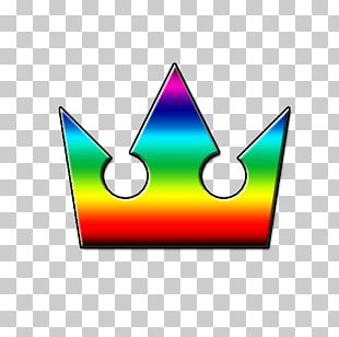 Crown Kingdom Hearts Rainbow PNG