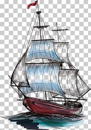 Ships Wheel Sailboat Sailing Ship PNG