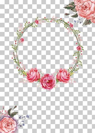 Floral Design Wreath Garland Crown PNG