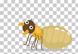 Ant Honey Bee Cartoon PNG