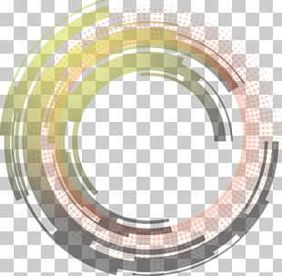 Science And Technology Abstract Circle PNG