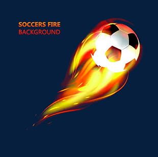 Fire Football PNG