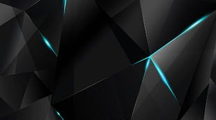 Light Desktop Blue Black Cyan PNG