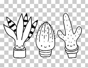 Coloring Book Cactus Saguaro Drawing Prickly Pear PNG