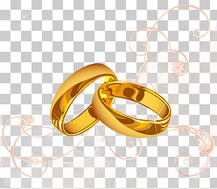 Wedding Invitation Wedding Ring Marriage PNG