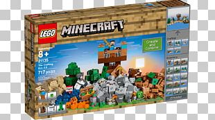 Lego Minecraft Lego Star Wars: The Complete Saga LEGO 21135 Minecraft The Crafting Box 2.0 PNG
