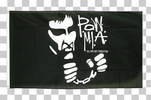 National League Of Families POW/MIA Flag Fahne Flag Of The United States Prisoner Of War PNG