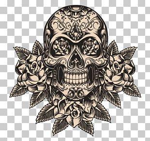Calavera Human Skull Symbolism Day Of The Dead Skeleton PNG
