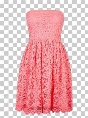 Cocktail Dress Fashion Cubus Pink PNG