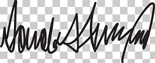 President Of The United States Signature Handwriting Writer PNG