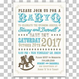 Baby Shower Party Infant Birthday Cowboy PNG
